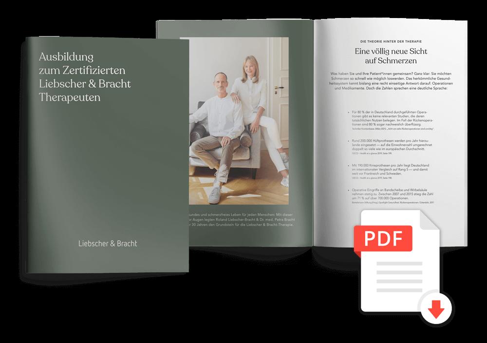Ausbildungsbroschüre Zertifizierter Liebscher & Bracht Therapeut